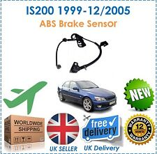 Fits Lexus IS200 1999 12/2005 2.0 Front Left ABS Anti Lock Brake Sensor NEW OEQ!