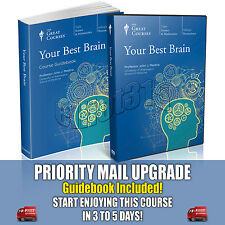 Your Best Brain DVD New Sealed John Medina Great Courses Neuroscience