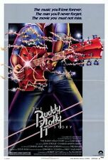 THE BUDDY HOLLY STORY Movie POSTER 27x40 B Gary Busey Don Stroud Charles Martin