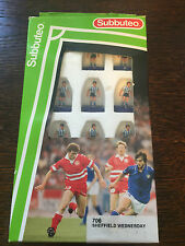 Subbuteo LW Team - Ref. 706 Sheffield Wednesday