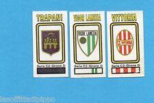 PANINI CALCIATORI 1978/79-Figurina n.583- TRAPANI+VIGOR L.+VITTORIA-SCUDETTO-Rec