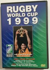RUGBY UNION WORLD CUP 1999: THE COMPLETE STORY – DVD, OVER 4 HOURS, REGION 0