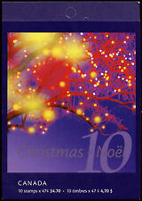 Canada 2001 $4.70 Christmas MNH Stamp Booklet #C24827