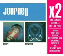 JOURNEY X2 CD ESCAPE/FRONTIERS BRAND NEW SEALED