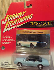 Johnny Lightning Classic Gold Collection 1967 Mercury Cougar 1:64 Diecast NRFB