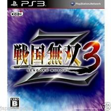 Used PS3 Sengoku Musou 3 Z  SONY PLAYSTATION 3 JAPAN JAPANESE IMPORT