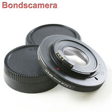 AF confirm Canon FD Mount Lens to Nikon F mount Camera Adapter Optic D600 D800