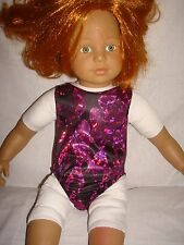 "Leotard/swimsuit  ideal for American Girl  18"" Fashion doll"