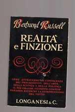 realta' e finzione  - bertrand russel - marznon