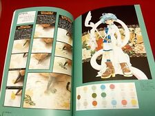 Color Marker tutorial book, how to use Copic and more , from Japan Manga Anime