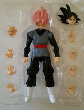black Goku super sayan rose custom s.h. figuarts dragonball super