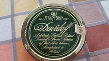 Scatola di latta porta tabacco Davidoff