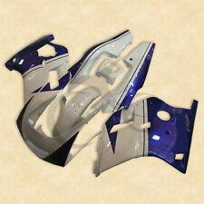 White Blue ABS Plastic Fairing Bodywork Kit For YAMAHA FZR250 3LN 1990-1992 91