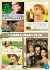 Atonement/The Age of Innocence/Pride and Prejudice/... (Box Set) [DVD]