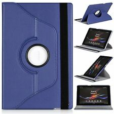 COVER FOR SONY XPERIA TABLET Z Z1 SWIVEL 360º BLUE DARK