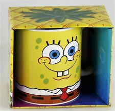 Nickelodeon SpongeBob Squarepants Ceramic Coffee Mug Yellow 12 oz