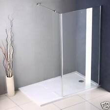 1700x900mm Walk In Shower Enclosure Glass Cubicle Screen+Stone Tray A89