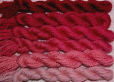 New Paternayan Wool 3ply Persian Yarn Needlepoint Crewel 890 Berry Pink Family