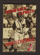2005 Round Rock Express Schedule--Freeze Factory
