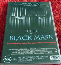 DVD. Jet Li is Black Mask /Jet Li, Ching Wan Lau, Karen Mok/ (MA)15+ / Reg 4 Pal