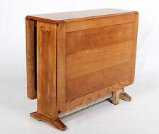 Oak Dining Table Golden Oak Vintage Extending Gateleg Drop Leaf Table