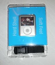 gear4 iVak Hard Plastic Silver case & Lanyard for ipod Nano 3rd Gen 4-8GB UK