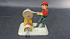Antique Tin key Wind-Up Toy Made By Girard Mechanical Toys Original Paint