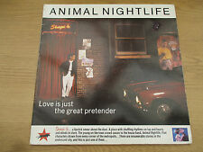 "Animal Nightlife  ‎–  Love Is Just The Great Pretender  2 × Vinyl 12"" 45 RPM AN1"