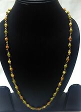 """Indian Traditional Bollywood Stunning Partywear New Gold Plated Long Chain 24""""."""