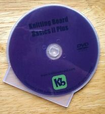 Knitting Board Basics 2 Plus   DVD From Authentic Knitting Board
