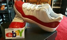 Nike Air Jordan 11 Retro Low QS 2/19/16 WHITE/VARSITY RED-BLACK 528895 102 2001