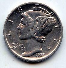 1937-d Mercury dime  (SEE PROMO)