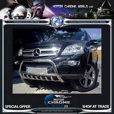 MERCEDES ML BULL BAR CHROME AXLE NUDGE A-BAR 60mm 2012+ Onwards, ON OFFER NEW