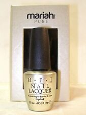 OPI MARIAH CAREY PURE 18K WHITE GOLD TOP COAT 0.5oz