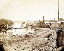 Photo Tredegar Iron Works Richmond, VA Main Artillery Source Confederacy 1865