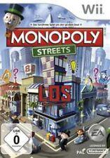 NINTENDO Wii Monopoly Streets Deutsch Neuwertig