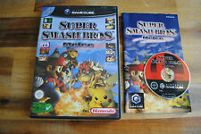 Jeu SUPER SMASH BROS MELEE sur Nintendo Game Cube GC PAL COMPLET