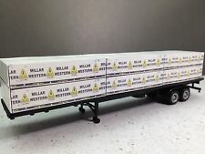 HO 1/87 Lumber Load - Millar Western Cedar Mill to fit 48' HO Semi Trailer