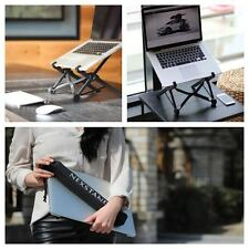 Portable Height Adjustable Folding Laptop Notebook macbook Ergonomic Stand mount