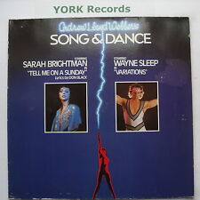 ANDREW LLOYD WEBBER - Song & Dance - Excellent Con Double LP Record RCA BL 70480