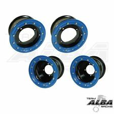 YFZ 450 450R  Front   Rear Wheels  Beadlock  10x5 and 9x8  Alba Racing  B/L  41