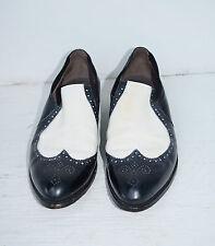 Vintage 50's Men's Rockabilly 2 Tone Spectator Dress Shoes by Nettleton 9 1/2 A