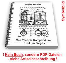 Biogas Gewinnung Biogasanlage selbst bauen - Technik Patente Patentschriften
