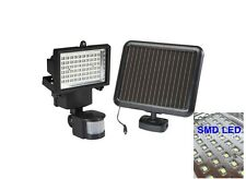 60 SMD LED Solar Powered Motion Sensor Security Light Flood Light Lamp Lighting