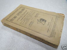 CA1 ETUDES LITTERAIRES SUR LES AUTEURS FRANCAIS 1894-1897 RENE DOUMIC LEVRAULT *