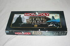 Star Wars Monopoly Classic Trilogy Edition Board Game COMPLETE 1997
