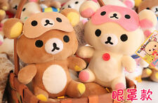 Rilakkuma 2pcs eyepatch Plush Toy stuffed gift doll new