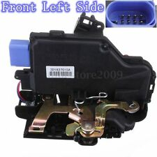 Front Left Driver Side Door Lock Actuator For VW Golf Mk5 9Pin 03-09 #3D1837015A