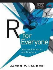 *FAST SHIP* - R for Everyone: Advanced Analytics and Graph 1E by Jared P Lander