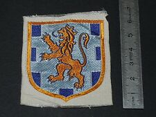 RARE PATCH TISSU SPORFLEX 1930-1950 ECUSSON FRANCHE-COMTE PROVINCES FRANCE